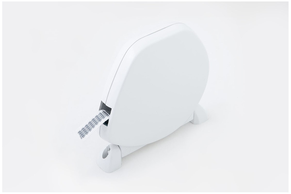 Zwijacz na taśmę do 5 m/14 mm (z taśmą) biały