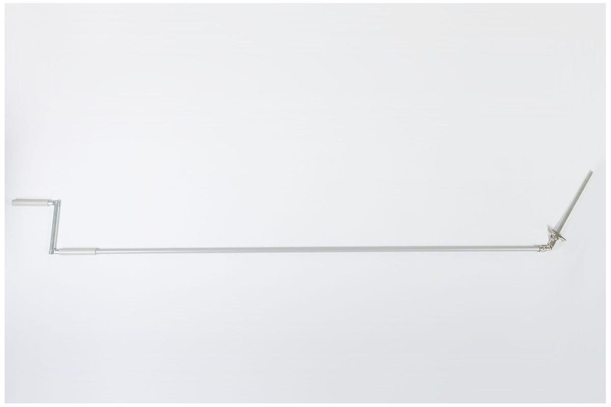 Korba z Cardanem 45° z drążkiem L1500 mm szarym