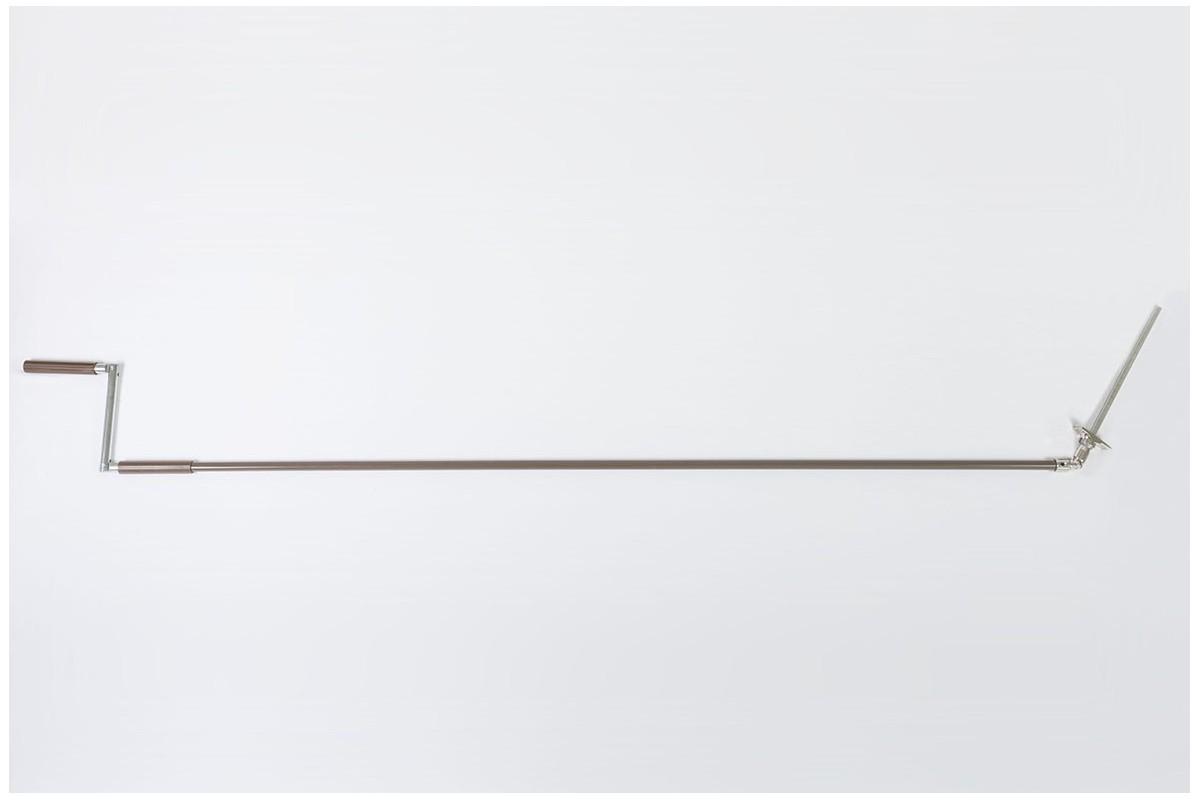 Korba z Cardanem 45° z drążkiem L1940 mm brązowym