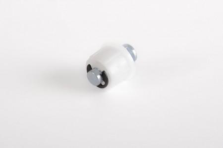 Cap for round tube Ø 18