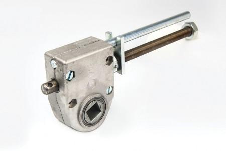 Getriebe mit Anschlag 1:13 bis 45 kg mit Endschalter