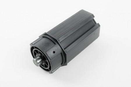 Kapsel mit Rundstift Ø 50 für Gurtscheibe, Ø 12 L76 mm