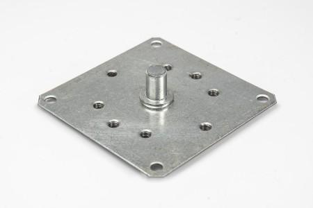 Lagerplatte für Kurbelgetriebe