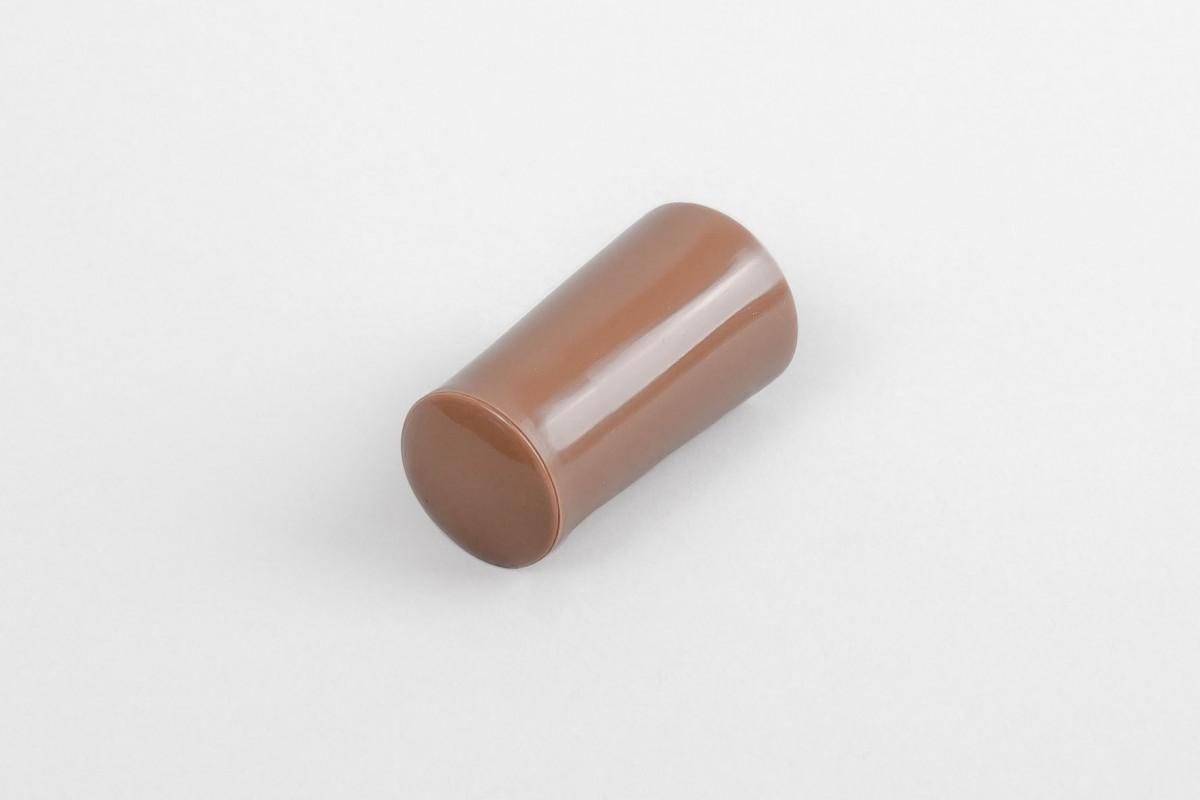 Kołek oporowy 40 mm z zaślepką, złoty dąb
