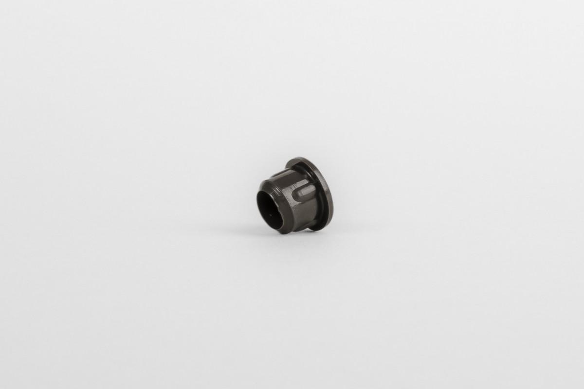 Заглушка для направляющих Ø 10 темно-коричневая