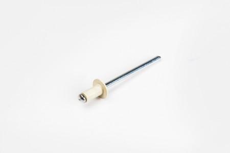 Nit Ø4 x 10 mm, beżowy