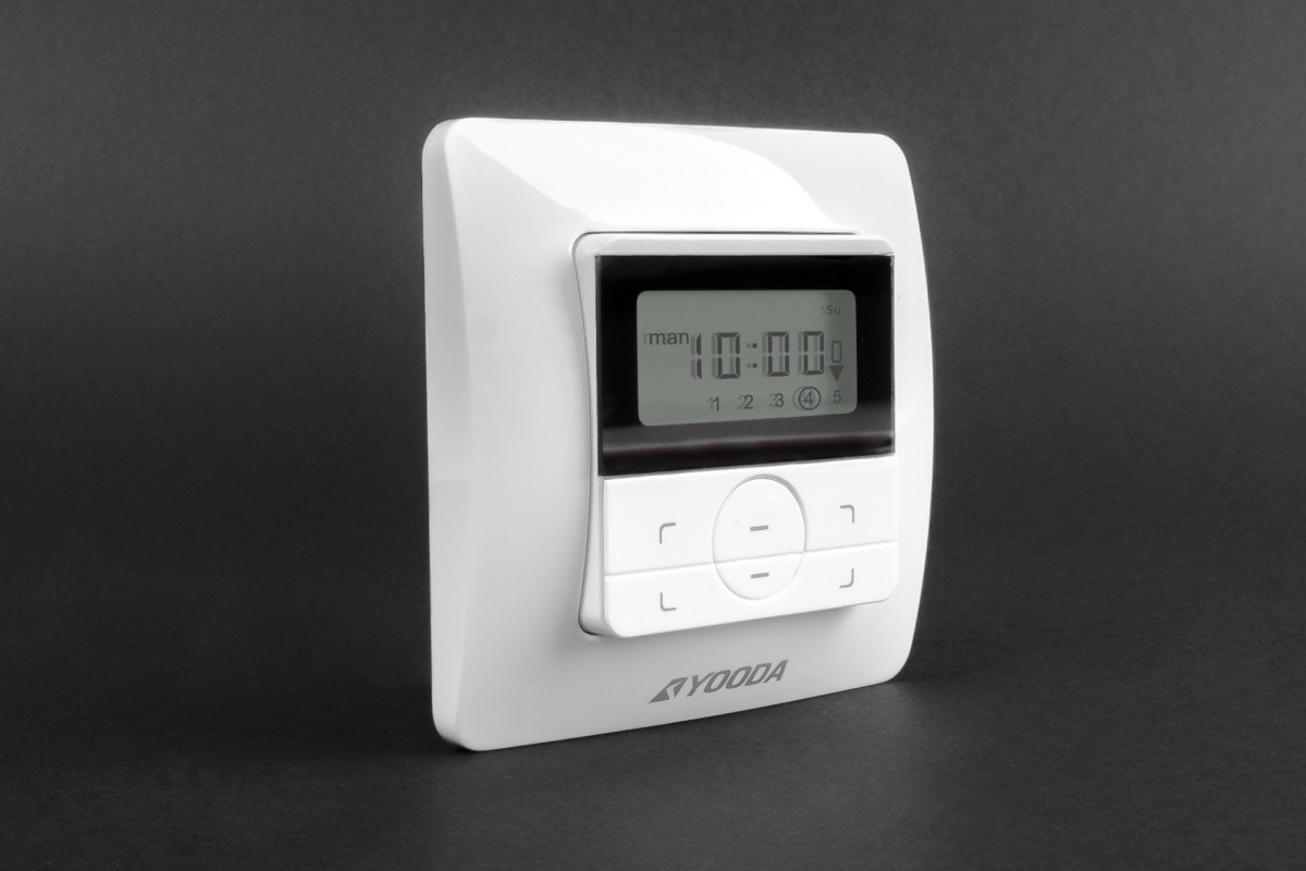 5-channel AURA wall mounted remote control with timer