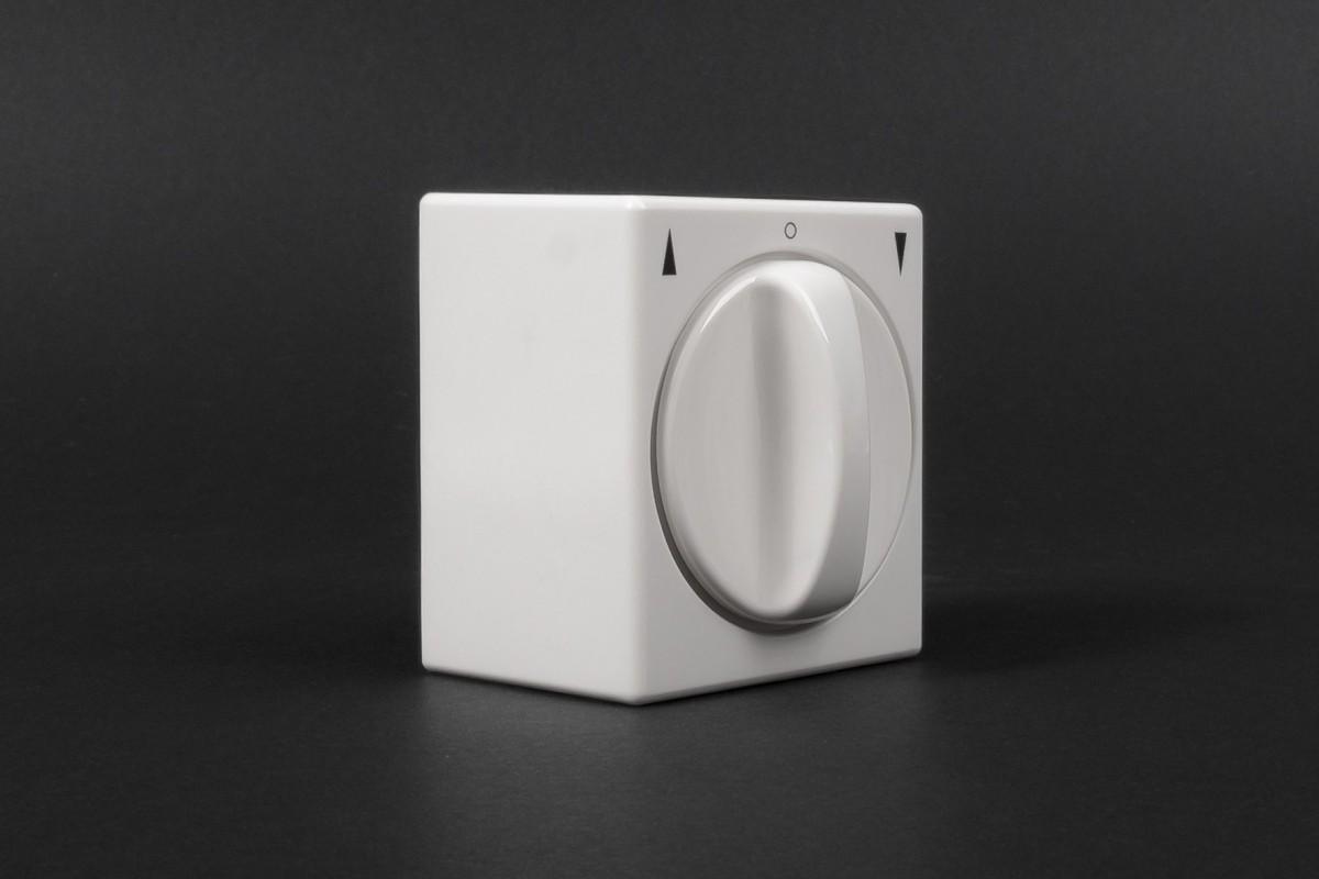 Выключатель поворотный, для наружной проводки, без фиксации