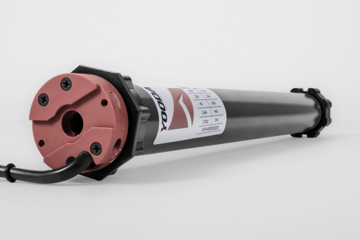 Napęd rurowy seria 45, 40 Nm, 15 obr./min.