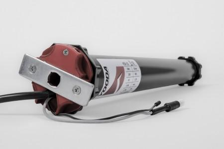 Napęd rurowy seria 45R, 10 Nm, 15 obr./min. z radiem krótki 50 cm