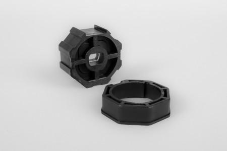 Adapter und Mitnehmer, 8-Kant - verwendet mit Antrieb Serie 35 und Welle SW 50