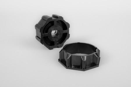 Адаптер восьмиугольный для октовала Ø 60 (электроприводы серии 45)