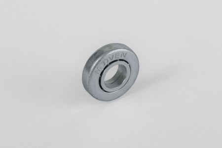 Ø28 / Ø12 bearing with steel rim, without flange