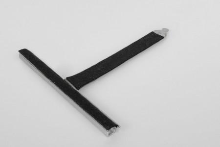 Wieszak filc. wpust ALU150 bez rozcięcia L130 mm do profilu 37-52