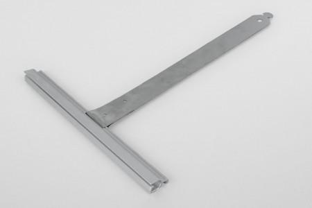 Wieszak nielak. wpust ALU150 bez rozcięcia L190 mm do profilu 55-77