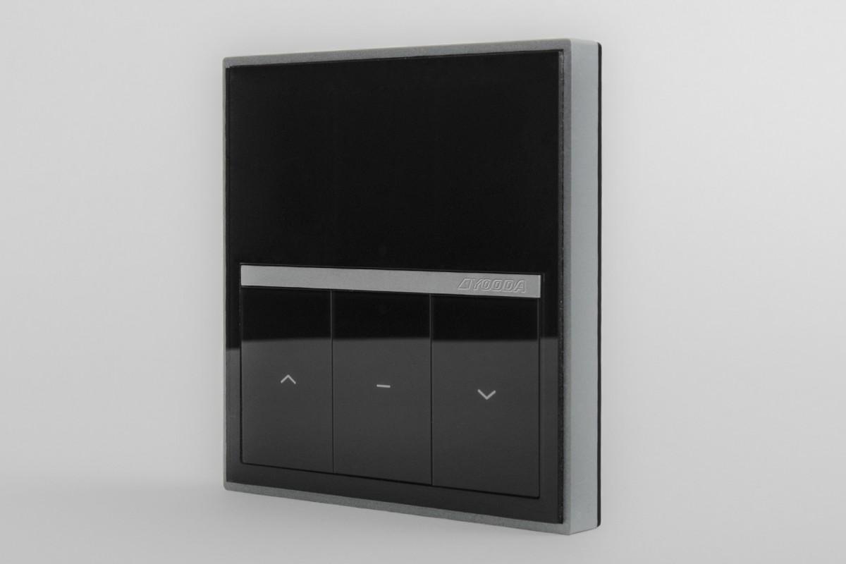 Пульт настенный MAGNETIC DELUXE 1-канальный, черный