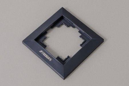 Ramka przełącznika klawiszowego, antracyt