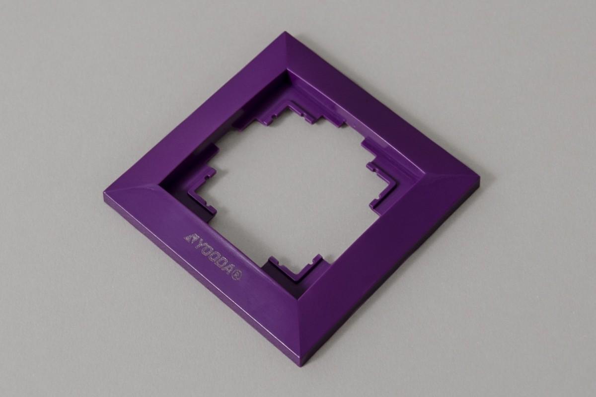 Ramka przełącznika klawiszowego, fiolet