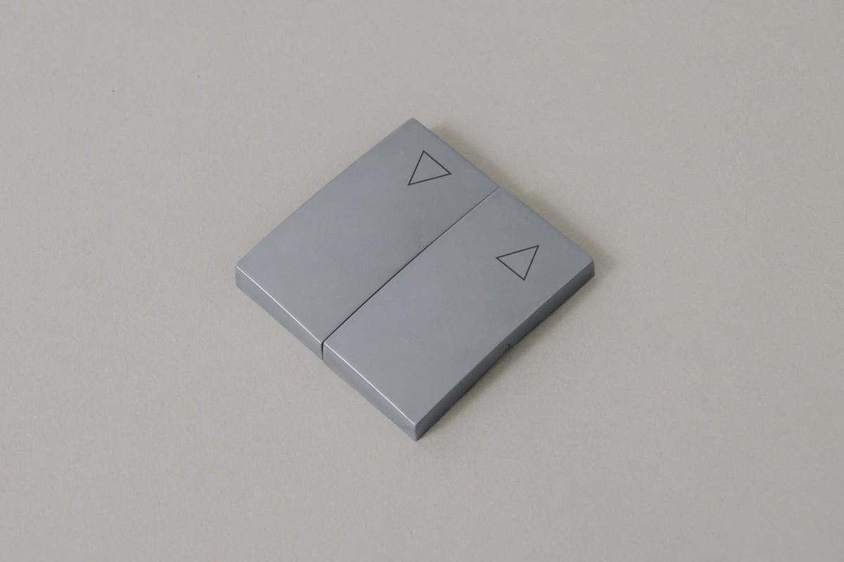 Klawisze przełącznika, srebrny