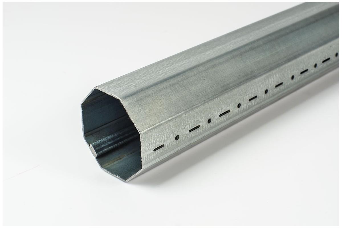 Steel octagonal tube, Ø 70 x 1,5 - 7m