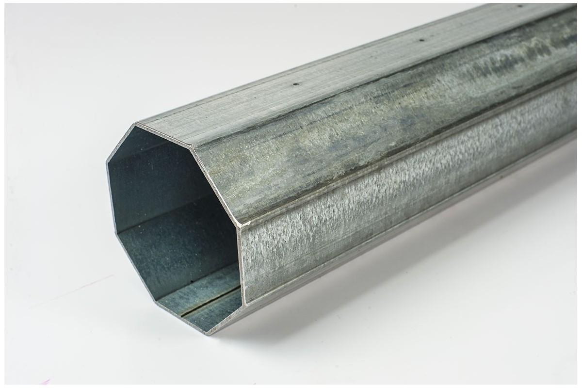 Rura stalowa ośmiokątna Ø102 x 2,0 - 7m