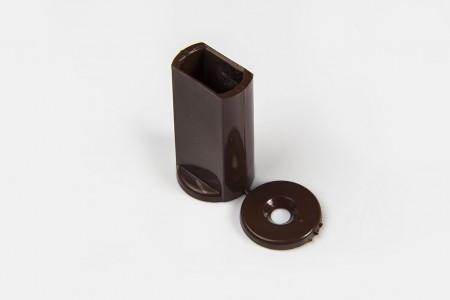 Kołek oporowy 40 mm do listwy dolnej, ORZECH