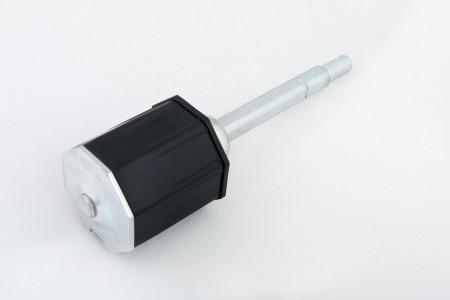 Obsadka fi 60 z ośką przestawną PCV, L190 mm