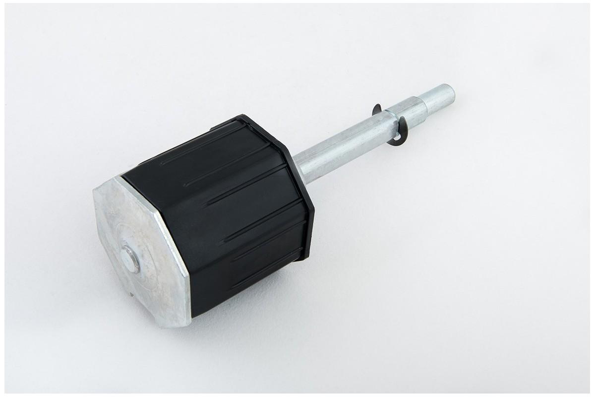 Obsadka fi 70 z ośką przestawną PCV, L190 mm