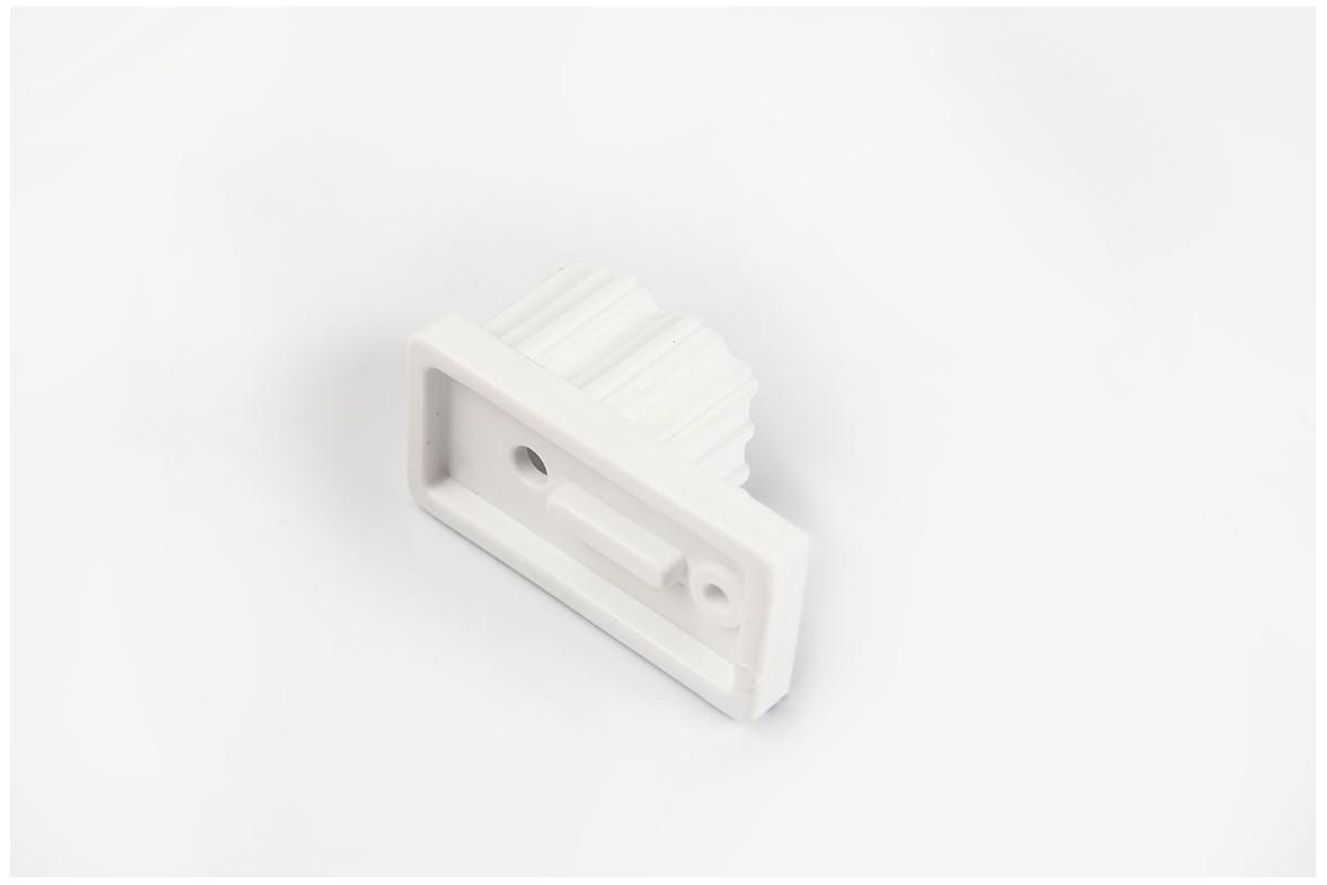 Ogranicznik do prowadnicy 22x45, biały
