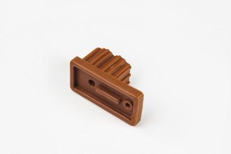 Ogranicznik do prowadnicy 22x45, złoty dąb