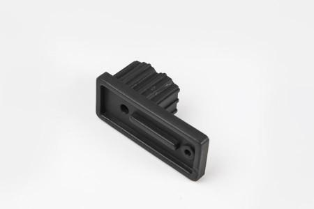 Ogranicznik do prowadnicy 22x53, czarny