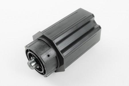 Obsadka Ø60 z ośką stałą Ø12 do kół nawojowych L98 mm