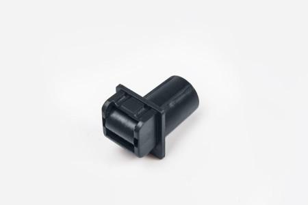 Prowadnica taśmy 14 mm rurkowa bez otworu na śrubkę antracyt
