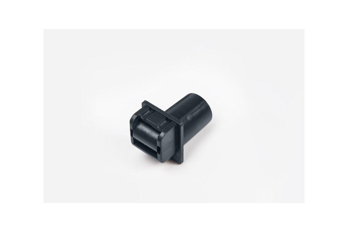 Tubular belt runner (14 mm) without screw thread, anthracite