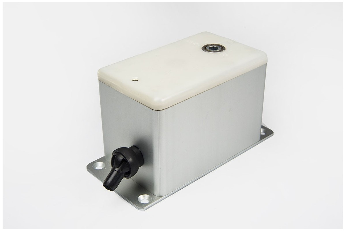 Steel line box coiler (to 100 kg), wall mounted, in aluminium casing