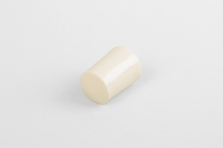 Kołek oporowy 28 mm z zaślepką, krem