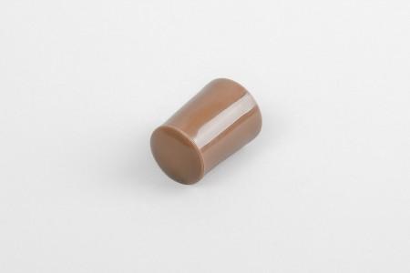 Kołek oporowy 28 mm z zaślepką, złoty dąb