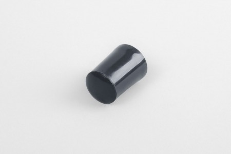 28 mm stopper with hole plug, anthracite