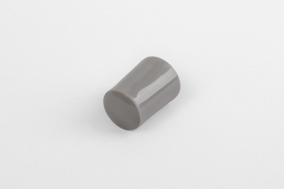 28 mm stopper with hole plug, steel olive