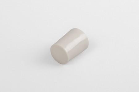 Kołek oporowy 28 mm z zaślepką, beżowy
