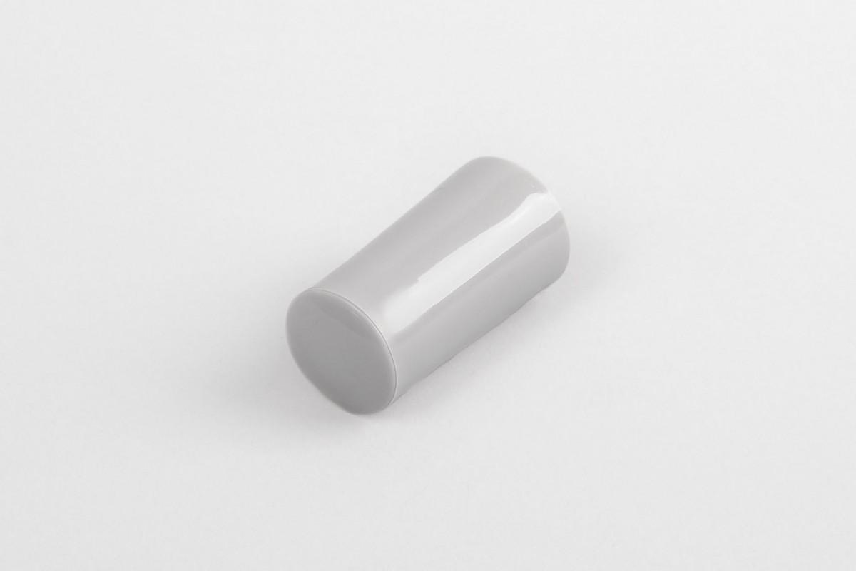Kołek oporowy 40 mm z zaślepką, szary