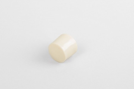 Kołek oporowy 13 mm z zaślepką, krem