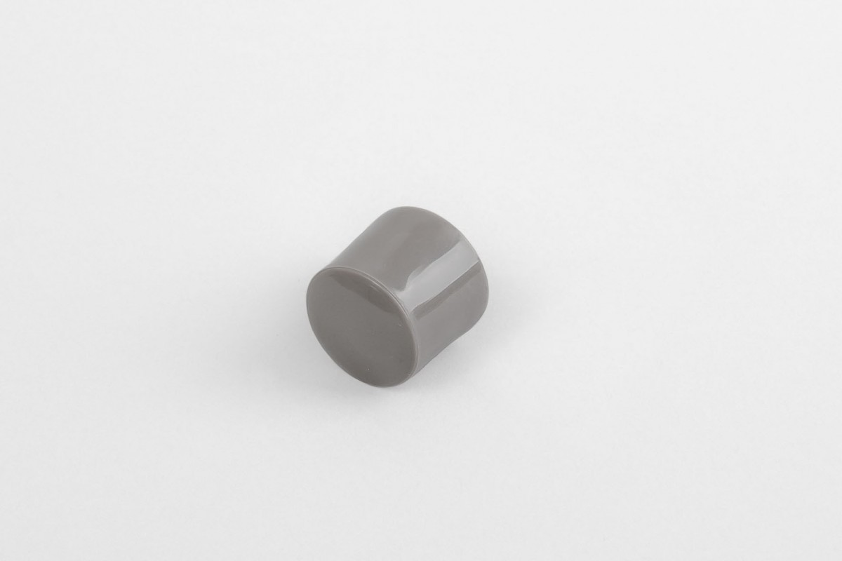 13 mm stopper with hole plug, steel olive