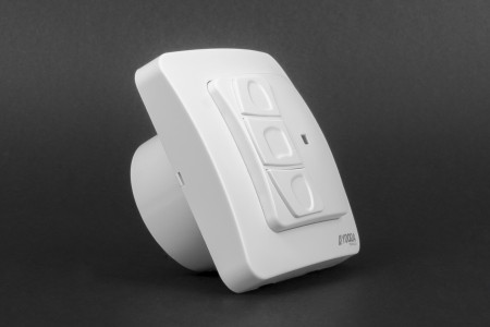Single channel SHAKKI flush mounted control unit with switch