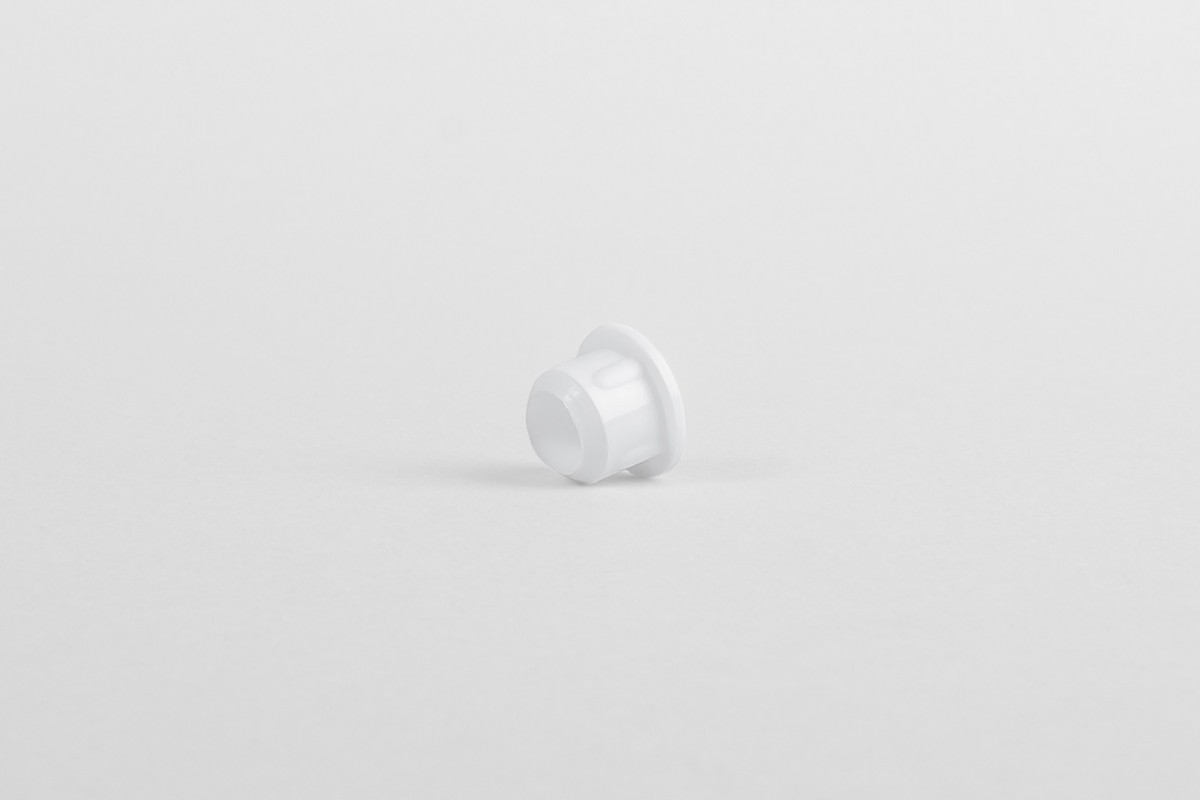 Hole plug for runner, Ø 10, white