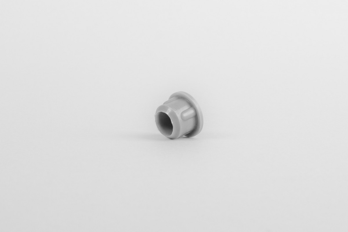 Hole plug for runner, Ø 10, grey