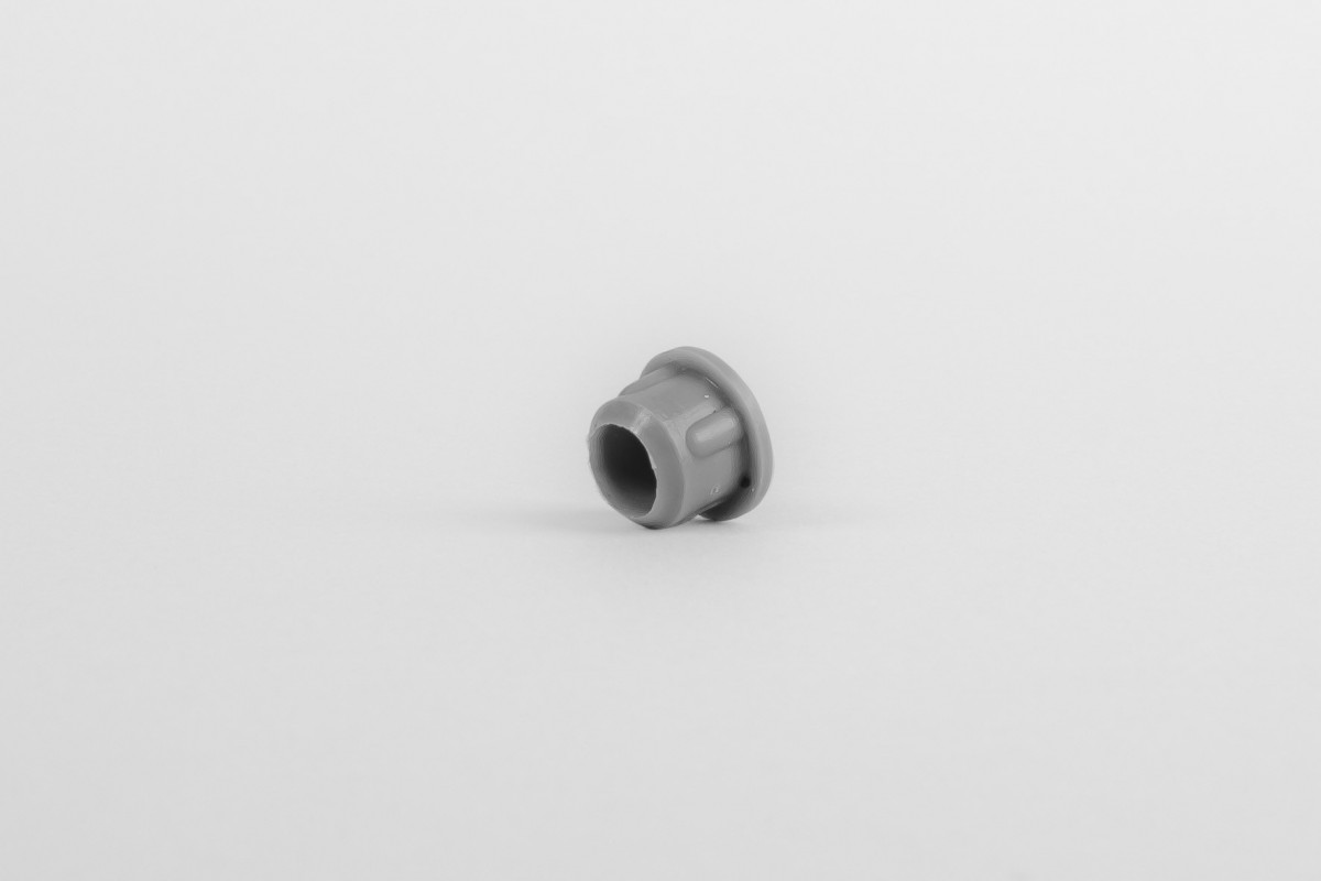 Hole plug for runner, Ø10, dark grey