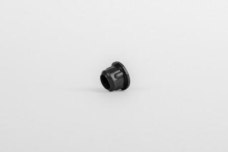 Zaślepka Ø10 bez rozcięcia, czarna