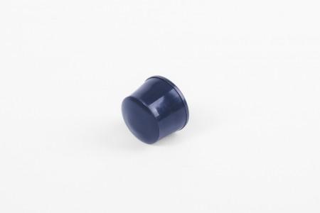 Стопор 13 мм с заглушкой, темно-синий
