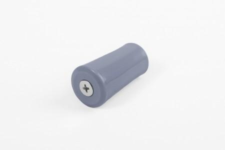 Kołek oporowy 40 mm z zaślepką, stalowy niebieski